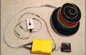EL-Wire-Hut: Sequenziert und Sound Activated mit Fernbedienung - powered by Arduino und Sparkfun
