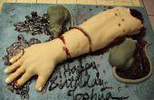 Abgetrennten Arm Kuchen