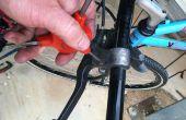 Shimano 7speed integriert Hebel Reparatur