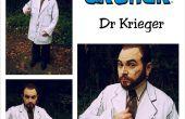 Handy-Shaded Arzt Krieger Bogenschütze Kostüm