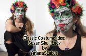 Klassisches Kostümidee: Sugar Skull Lady