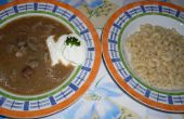 Ungarische Leber Suppe (Majleves)