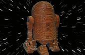 R2D2 - Laser schneiden Holz Modell