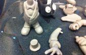 Besetzen 1 % inspirierte Action-Figuren mit austauschbaren Arme, Köpfe und Zubehör