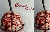 Blutiges Gehirn Kuchen