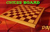 Schachbrett Holz DIY
