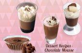 Dessert-Rezepte - Mousse au Chocolat