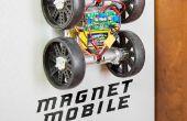 MagnetMobile: Macht einen Wand kriechen Rover