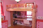 Wie man ein Kind Hochbett bauen