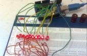 1 x 10-LED-Array mit Zufallsmustern machen