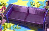 Machen Sie eine super schick und Elegant Puppe Sofa (einfach-Nein-nähen)