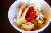 Ingwer-Chile-Huhn mit Reis