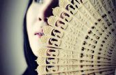 3D-Druck chinesische Oriental Falten Fan