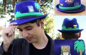 DIY-Sonic the Hedgehog Hat