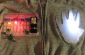 Tragbare Steckbrett für Elektronik - ProtoHoodie