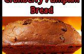 Cranberry Kürbis Brot