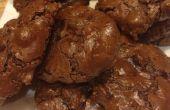 Double Chocolate Fudge Crinkle Cookies!