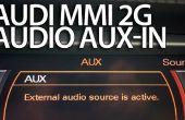 Stereo-AUX-Aktivierung im Audi MMI 2G