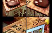 Anique Stil Küche Insel/Tabelle Nacharbeiten auf einem Etat