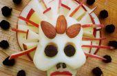 Zucker-freien Käse Schädel für Dias de Los Muertos (Tag der Toten)