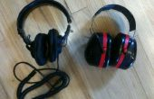 Sony MDR-7506s in 3 M Tekk 30db Lärm Reduktion Ohrenschützer