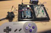 Machen ein SNES-Controller basierte Arduino Spiel