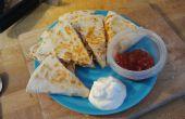 Schnell, einfach und lecker, Quesadillas