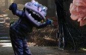 Cheshire Cat Kostüm - Tim Burton Stil