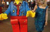 LEGO-Zombie-Minifigur-Kostüm