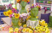 Blumen Kopf Kränze--eine Mittsommer Tradition