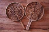 CNC-Paddel Labyrinth