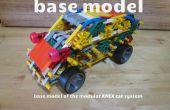 Modular KNEX Car System