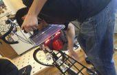Fahrrad Solar/Dynamo USB-Ladegerät + Rückleuchten