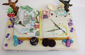 Alice im Wunderland Buch Kuchen