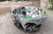 Meer Glas Mosaik Schale