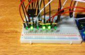Arduino Powered binäre Thermometer