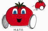Mato, der Ultracapacitor angetriebene Roboter-Freund