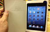 Machen eine iPad Mini-Buch mit Staufach