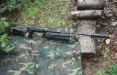 Das Tier-drehen eine Paintball Gewehr in eine Airsoft Sniper Rifle