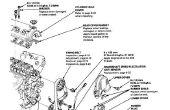 Ersetzen den Motor, die Wasserpumpe und Spanner Riemenscheibe (Honda Civic D15B).