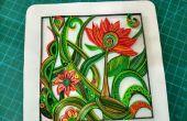 Quilled florales Design