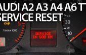 Reset Service Erinnerung im Audi A2, A3, A4, A6, TT