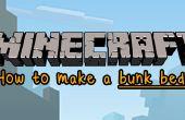 Minecraft: Wie erstelle ich ein Etagenbett