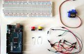 Arduino: Servo mit Tasten steuern