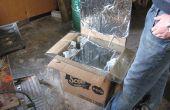 Wie erstelle ich einen einfachen Karton Solarofen