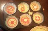 Regenbogen Spong Cupcake