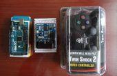 Arduino: Steuerung von Servo mit PS2-Controller (Programm mit Visuino)