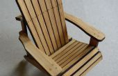 Adirondack Stuhl aus Bambus (Modell)
