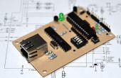 Ein Kreditkartenformat Arduino Ethernet-kompatiblen Controller-Board