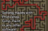 Labyrinth mit Photoshop, Gimp, Paint oder irgendeine andere Software zu lösen